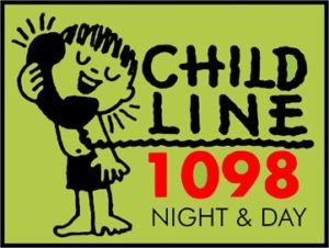 If you see a child in distress Dial- 1098